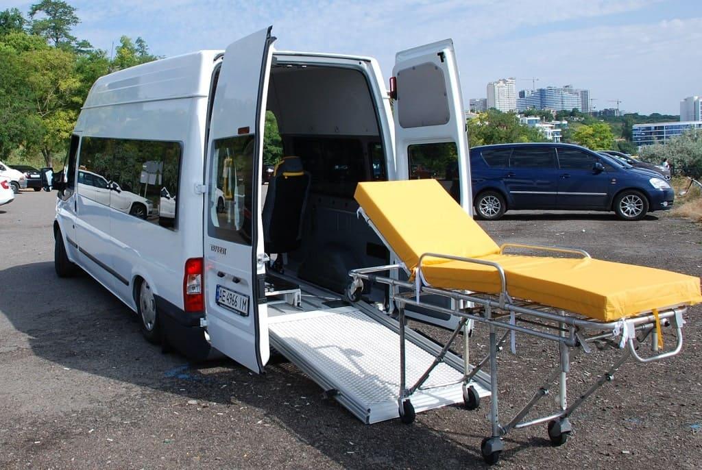 Перевозка больных из больницы домой