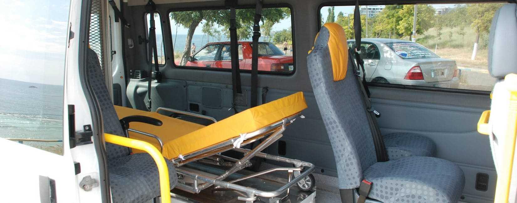 Транспортировка тяжелобольных